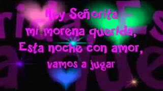 Allexinno Starchild - Hey Senorita (( Lyrics )).avi