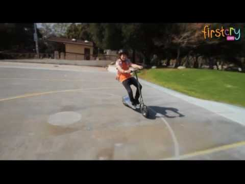 Razor E300s Seated Battery Operated Electric Scooter Youtube