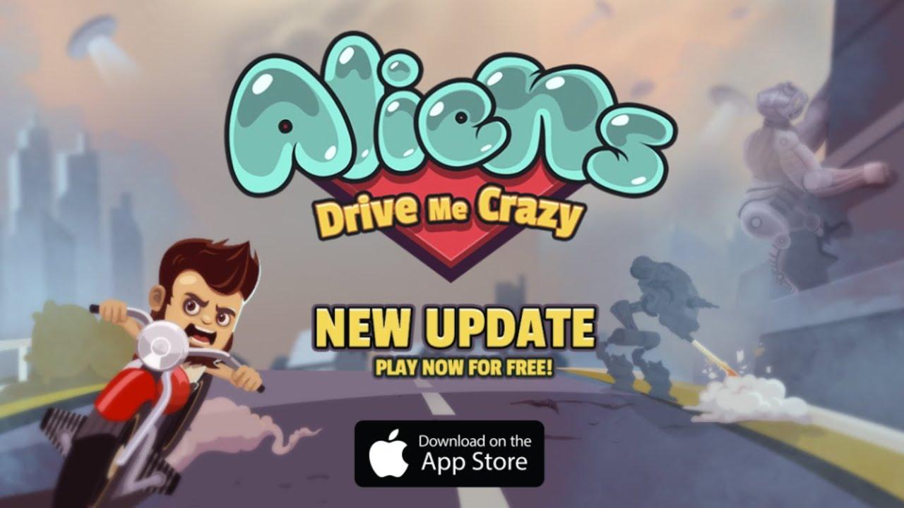 Aliens Drive Me Crazy: New Content Update