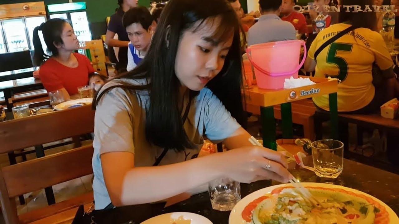Du lịch Lào_ Nhịp sống người Lào ở thành phố Pakse/ Travel Laos