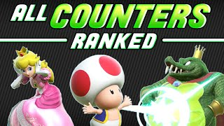 [SSBU] All Counters RANKED