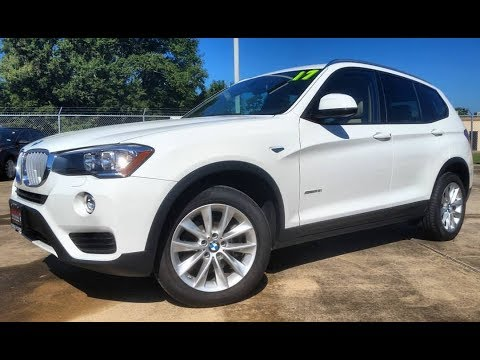 2017 Bmw X3 Sdrive28i Start Up First Person Review Youtube
