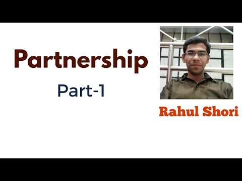 Lecture : Partnership for all Bank and insurance sector exams