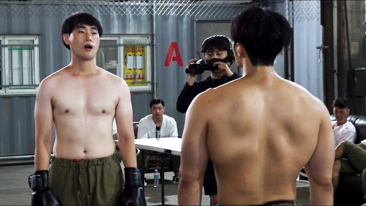 싸움 예상 꼴등 vs 운동 13년차 헬창 (진짜 싸움)