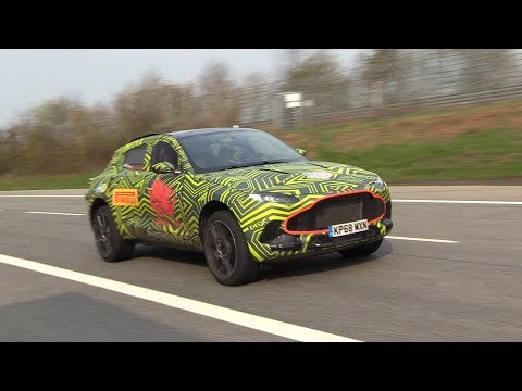 Aston Martin DBX Sounds Like A Sports Car At The Nurburgring