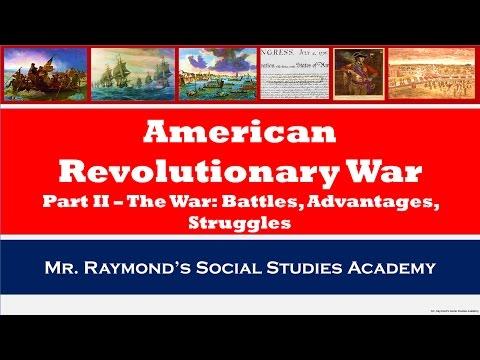 American Revolutionary War Part II