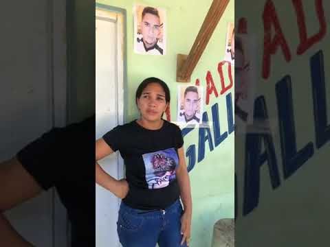 Madre de Paolo desaparecido en Cabrera pide ayuda al jefe de la Policía Nacional.