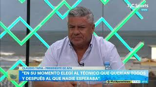 Claudio Tapia: