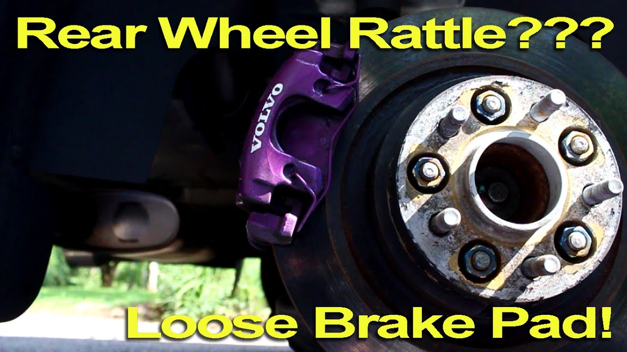 Rear Wheel Rattle??? Loose Brake Pad!