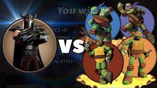 Shadow Fight 2 - Шреддер против Ниндзя Черепашек! Мультик Ниндзя Черепашки