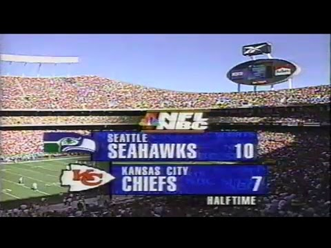 1997 NFL Football: Seahawks (2-2) @ Chiefs (3-1)