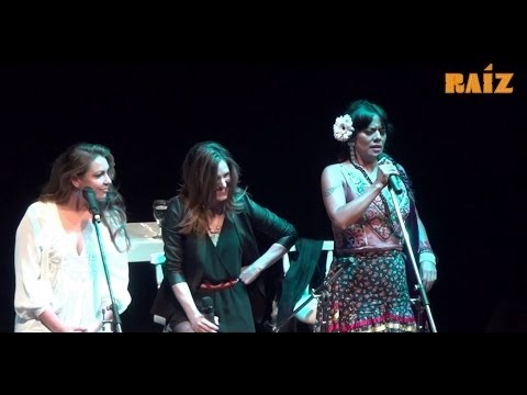 EL DÍA QUE ME QUIERAS - Lila Downs, Niña Pastori y Soledad - Raíz (Acústico)
