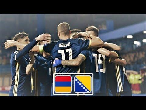 Армения - Босния и Герцеговина обзор матча