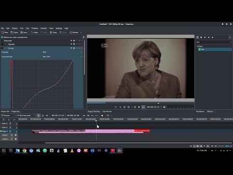 Old Film effect on Kdenlive | Sort of :p
