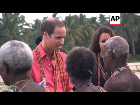 William and Kate meet locals as charges sought over topless photos