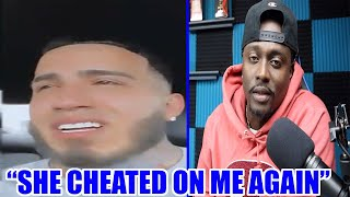 Twitch Streamer Breaks Down In Tears After Finding Out His Girl Cheated On Him Again!