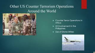 US Policy Toward Combating Terrorism Patrick Creutz