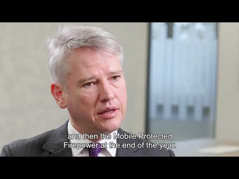 BAE Systems 2018 full-year results | CEO Charles Woodburn