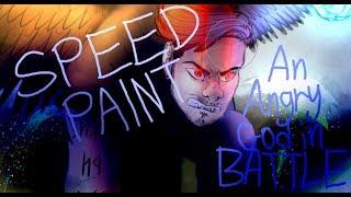 """An Angry God"" Speedpaint"