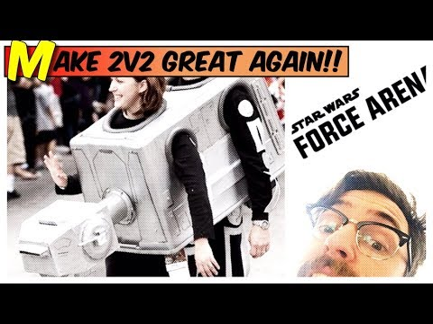 STAR WARS Mobile Game LIVE STREAM Make 2v2 Great again(Force Arena) Searching for Best Deck Gameplay
