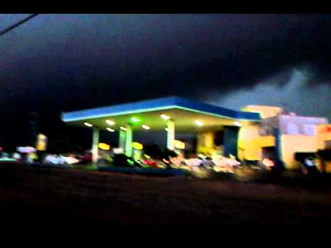 Canoinhas S.C. às 14:30 Chegando AA chuva 19/08/2014 ( Heron Teixeira )