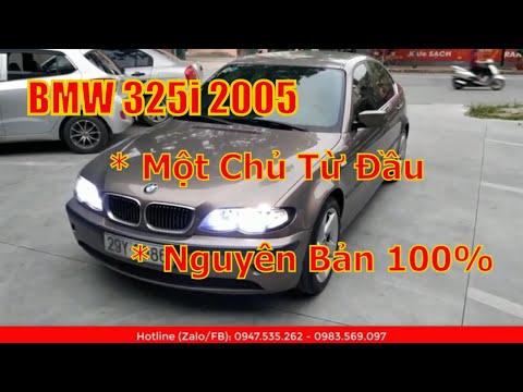 BMW 325i 2005 Đẳng Cấp Thương Hiệu Đức 235 Triệu
