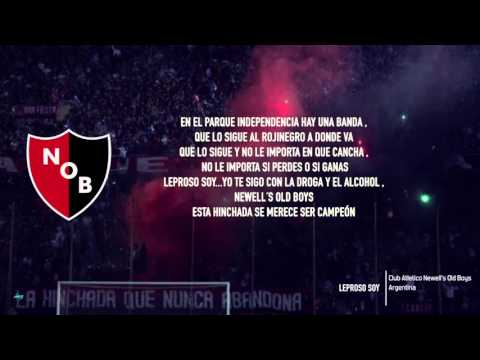 LEROSO SOY  -  Letra - Newells Old Boys - HD - Cántico