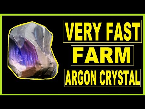 How to farm Argon crystals (Best place) in Warframe