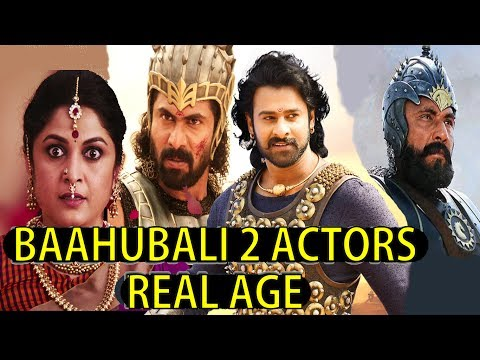 Thumbnail: Baahubali 2 Actors Real Age | 2017