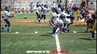 College Park Rams vs Atlanta Vikings 7U | Youth Ballers | Game Time