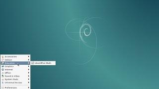 """Install Debian 8 """"Jessie"""" RC1 amd64. LXDE Desktop."""