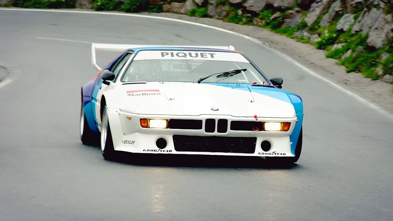 nelson piquet drives bmw m1 procar youtube. Black Bedroom Furniture Sets. Home Design Ideas