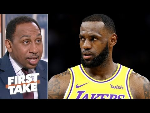 Lakers are 'doomed to get swept' if they make the NBA playoffs - Stephen A. | First Take