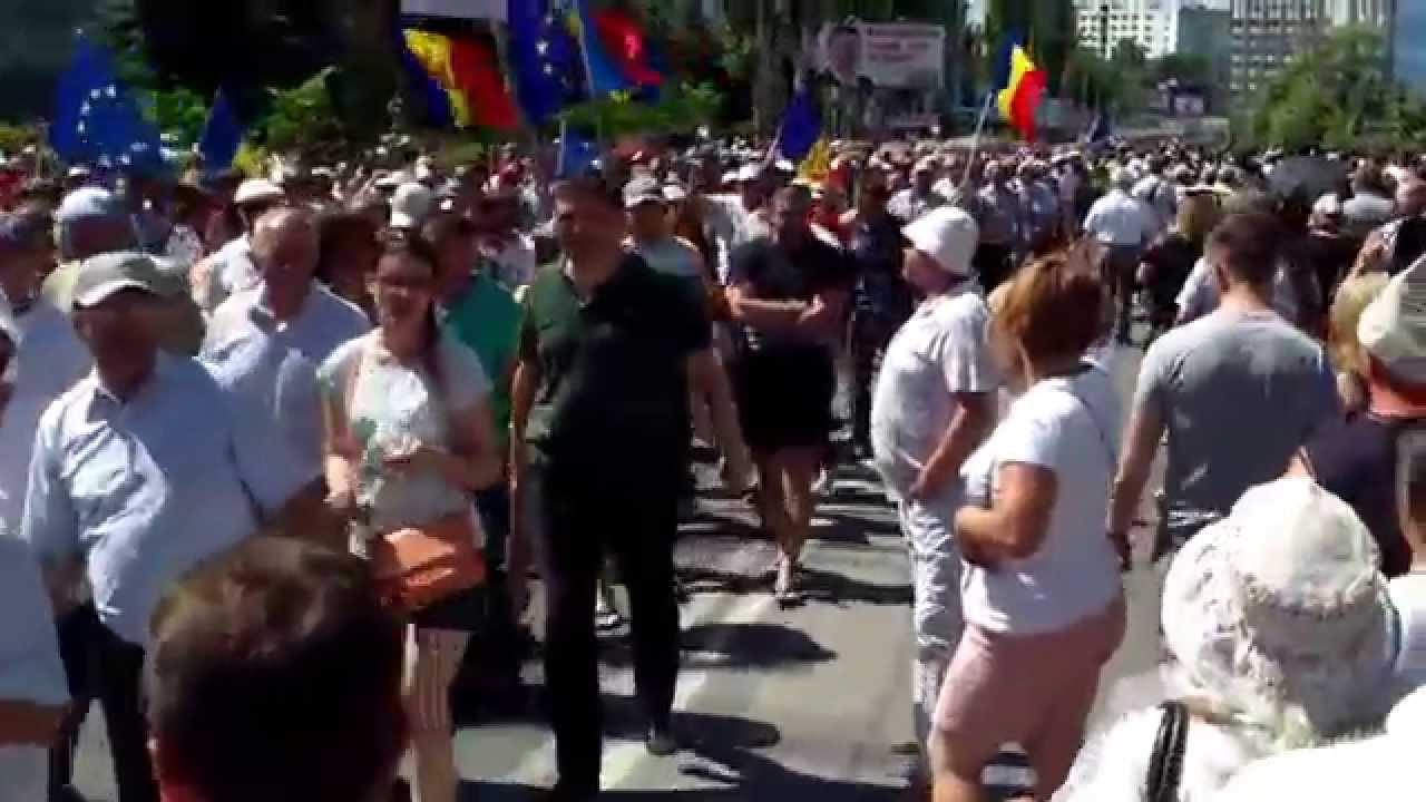 Mii de cetățeni revoltați au mărșăluit spre CNA