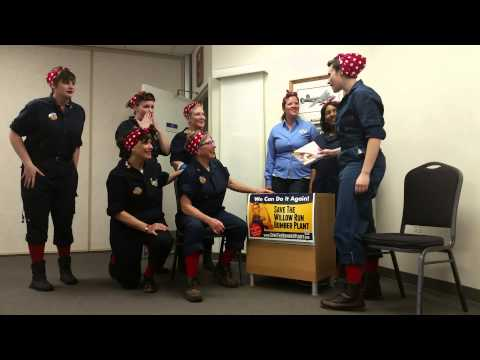 Willow Run Rosies Guinness World Record Challenge