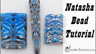 Polymer Clay Scrap Technique: Natasha Bead Tutorial