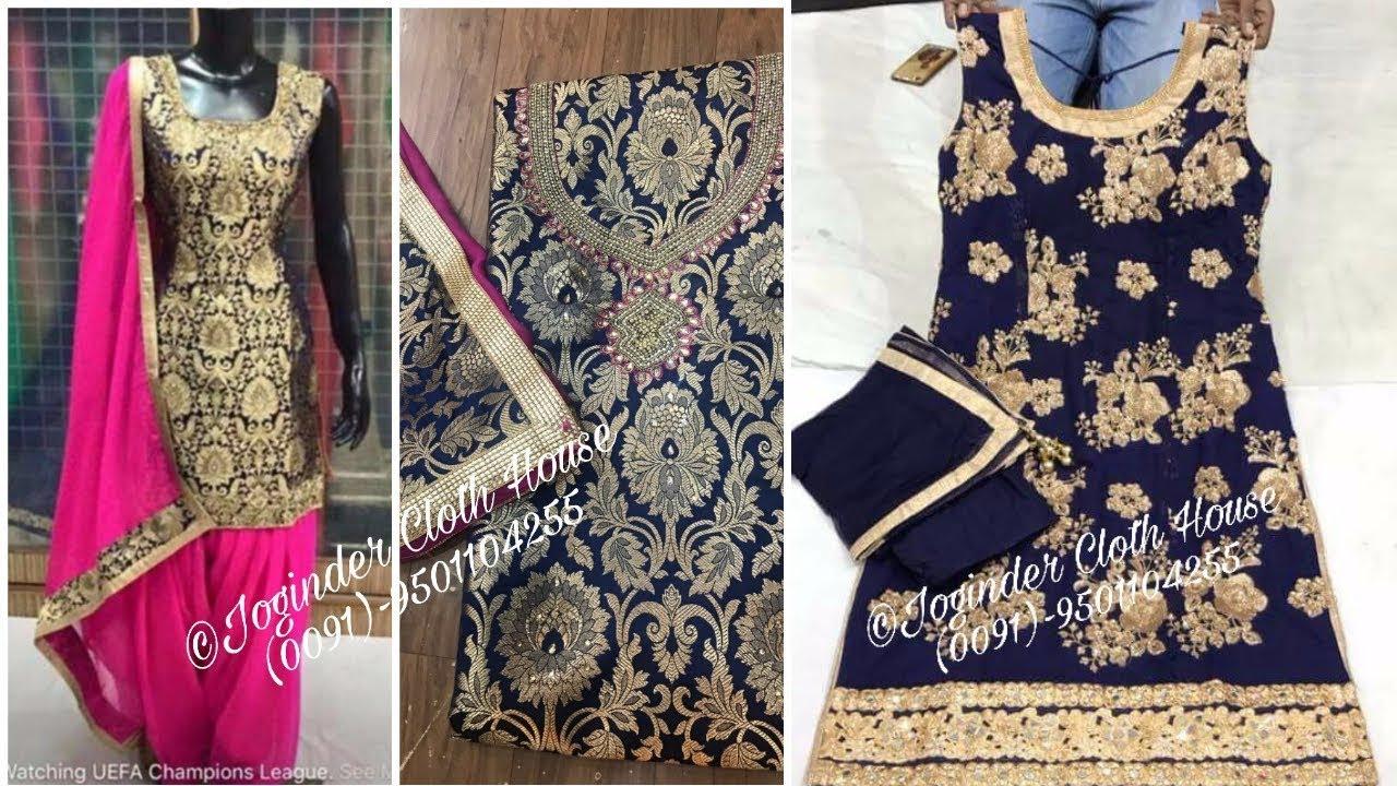 Top 10 Designer Punjabi Suits