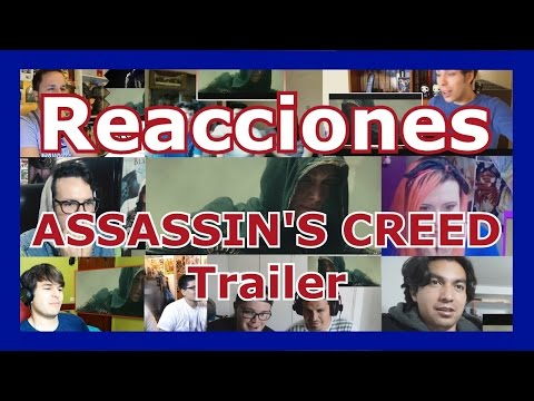 Recopilación de Reacciones: Assassin's Creed Trailer / Reactions Mashup - spanish