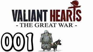 Let's Play Valiant Hearts The Great War #001 Der 1. Weltkrieg ( Gameplay German Deutsch)