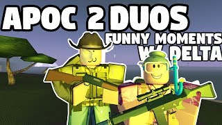 APOCALYPSE RISING 2 - DUO TEAM!!!   FUNNY MOMENTS (ROBLOX)