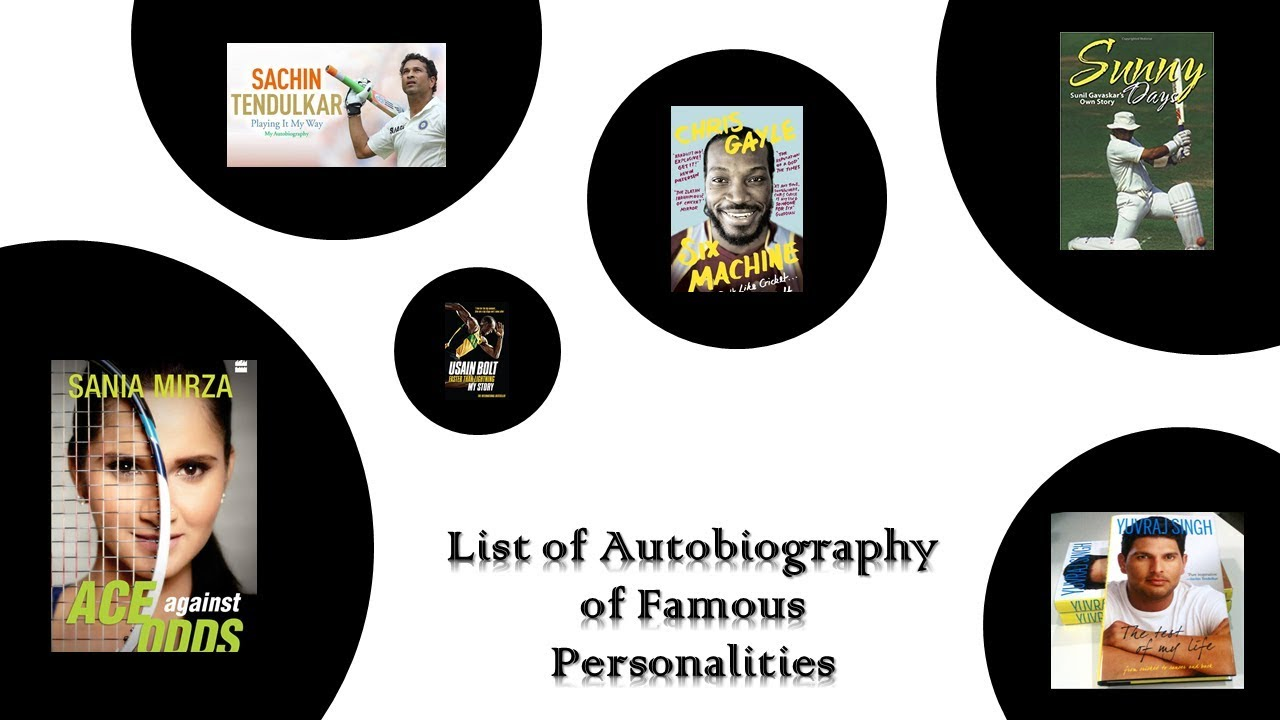 Autobiographies of great personalities