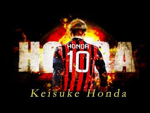 Keisuke Honda in AC Milan - Best Moments 2014 - 2017