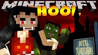 Minecraft School : NIGHTMARE IN HOTEL TRANSYLVANIA!