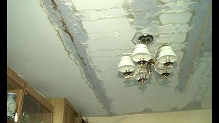 видео бежит крыша в многоквартирном доме