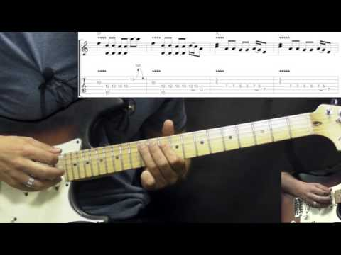 Jimi Hendrix - Killing Floor - Blues Guitar Lesson (w/Tabs)