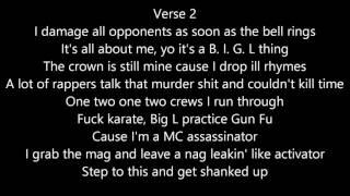 Big L - Let Em Have It L Lyrics