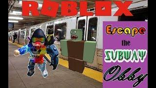 OJM Roblox Avventure- Parte 1- Fuga dalla metropolitana Obby