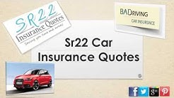 How Can I Get Auto Insurance Quotes For Sr22