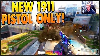 NEW 1911 BO3 PISTOL 52-3 GAMEPLAY! | Black Ops 3