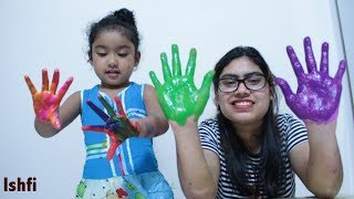 Nursery Rhymes for Kids with Finger Paint by Ishfi & Mummy